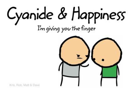 Скачать книгу Cyanide and Happiness: I'm Giving You the Finger